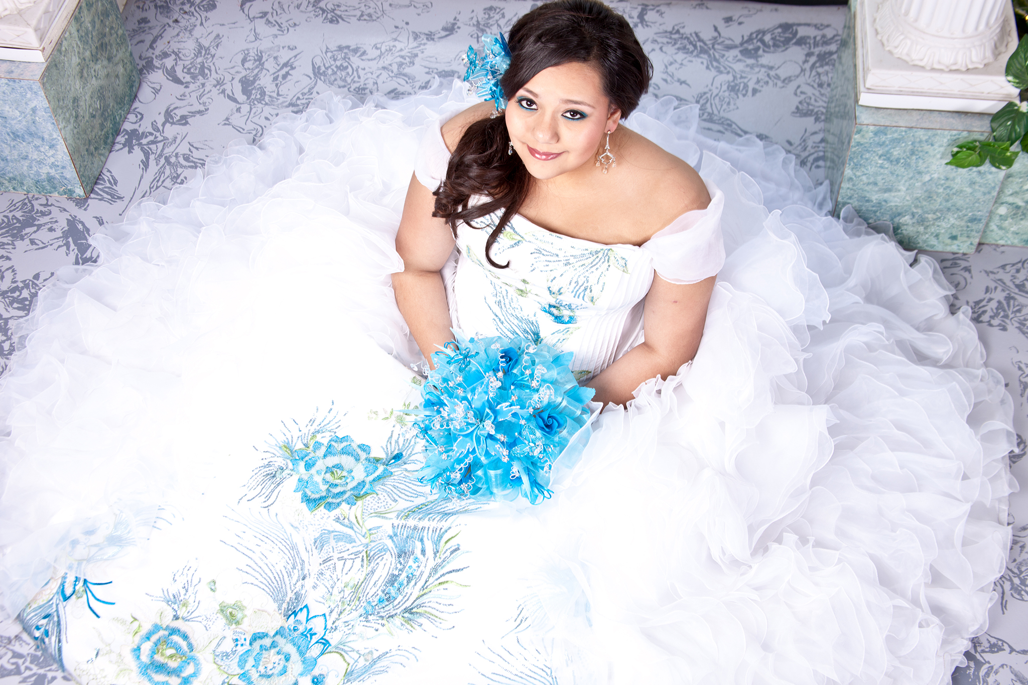 Quinceanera's photographed by All Digital Studios