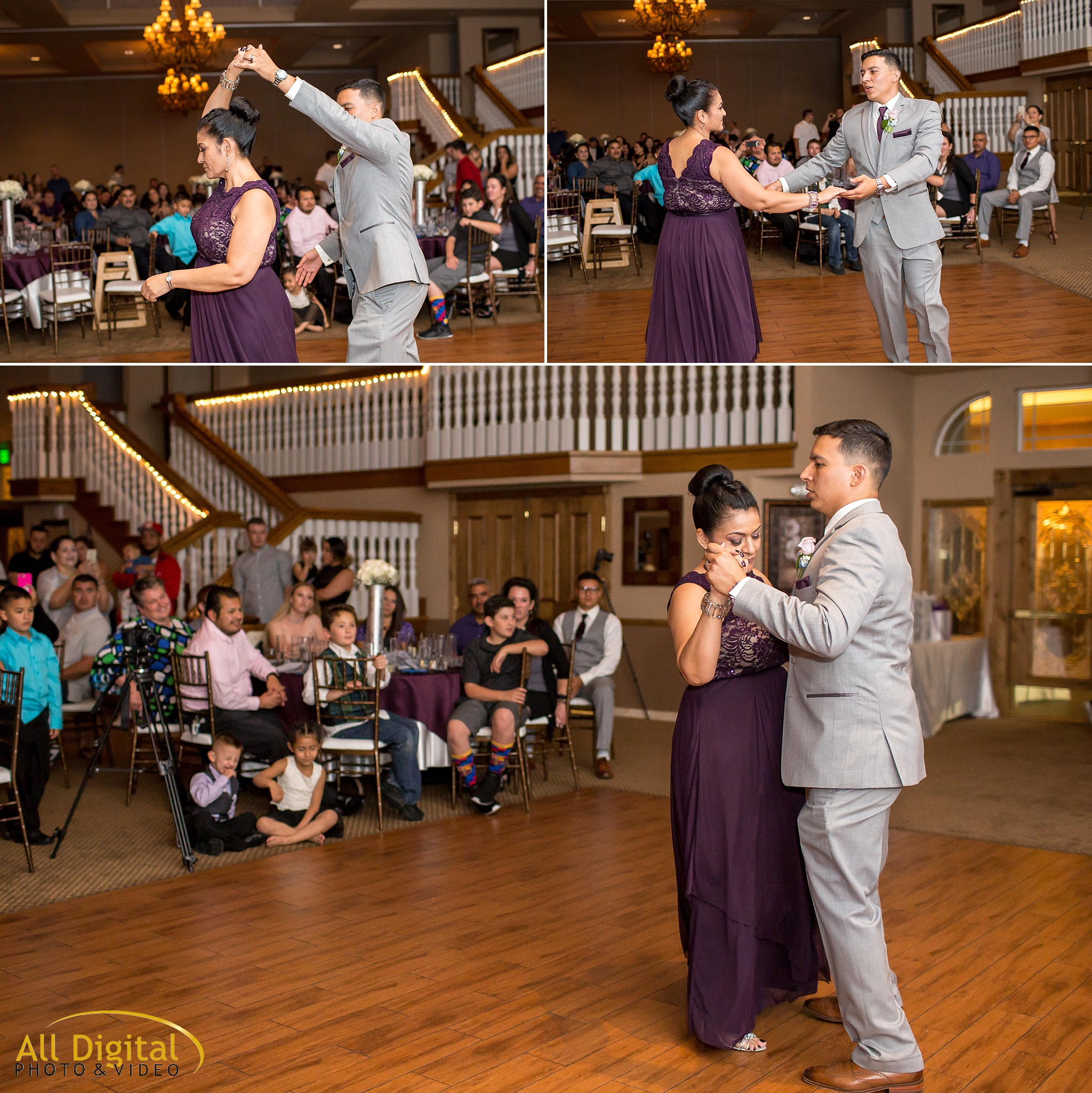 Groom & Mother dance at Stonebrook Manor.