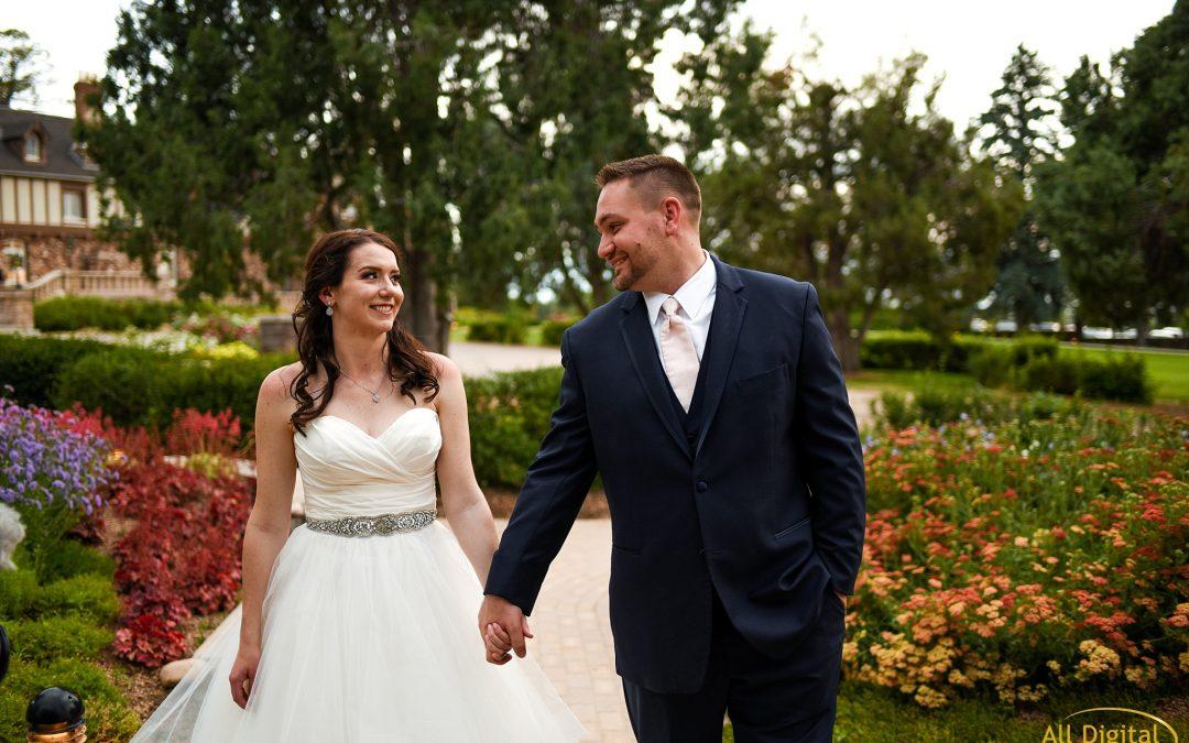 Patty & Dan | Highlands Ranch Mansion Wedding | Colorado Wedding Photographer