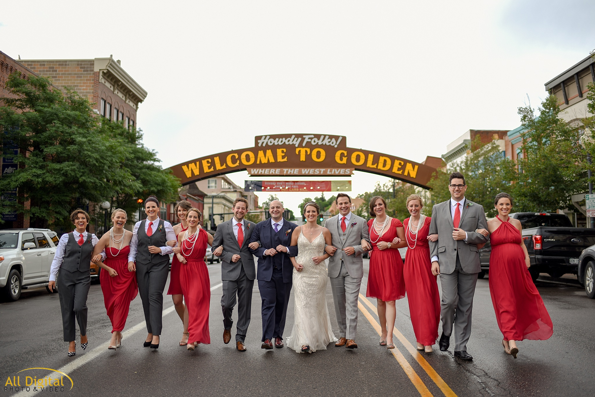 Mary & Jeremy | Golden Hotel Wedding | Colorado Wedding Photographer