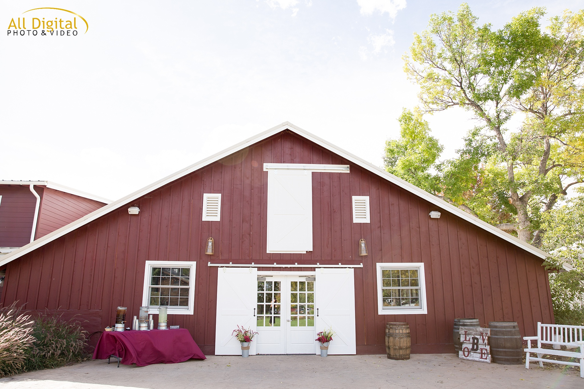 Tina & Nathan's Colorado Wedding at the Barn at Raccoon Creek