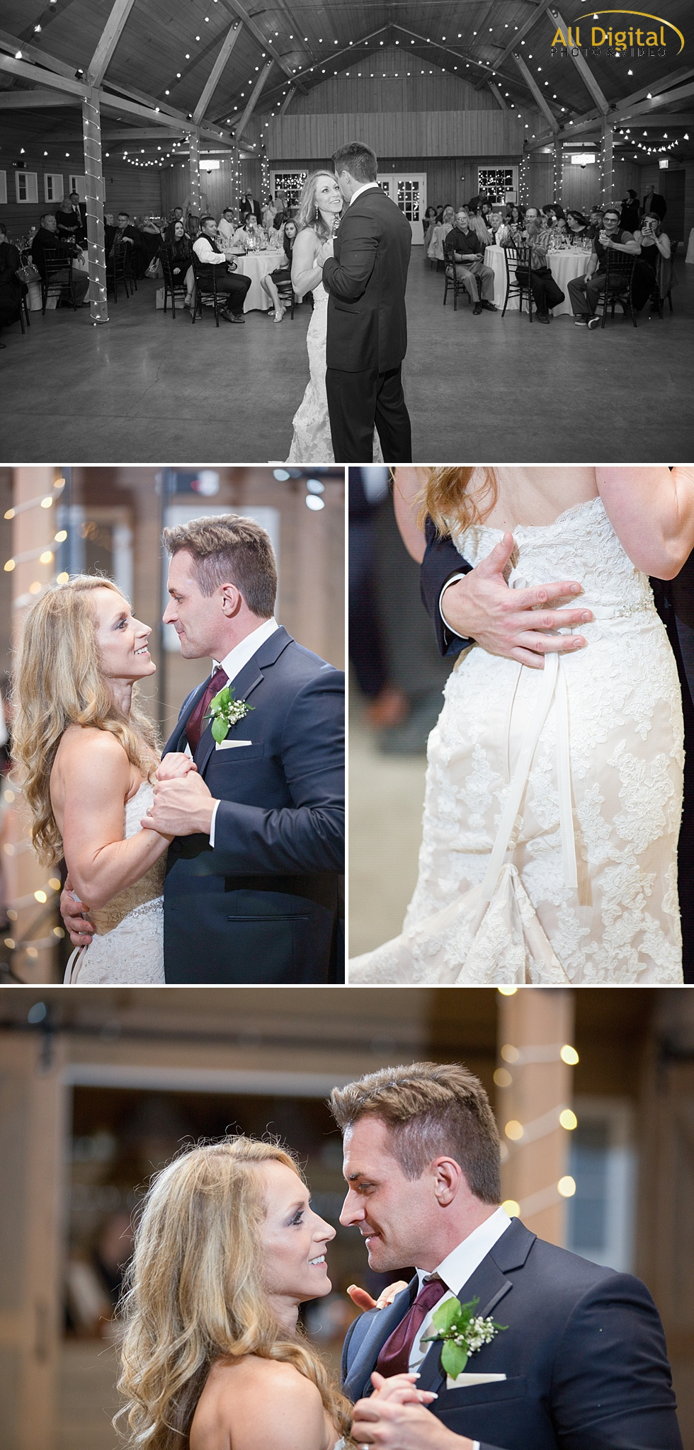 Tina & Nathan's First Dance at the Barn at Raccoon Creek