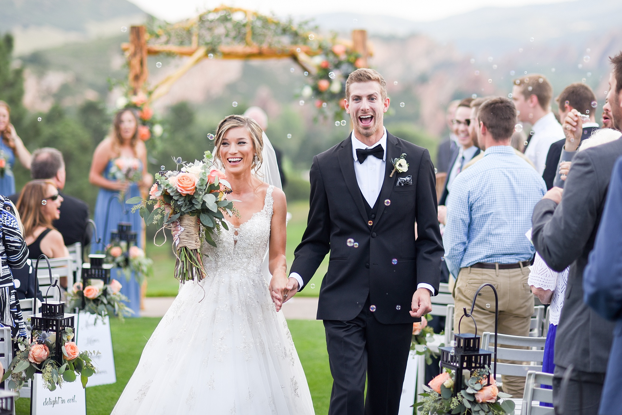 Kirsten & Dylan | Arrowhead Golf Course Wedding | Colorado Wedding Photography