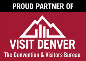 Proud Partner of Visit Denver: The Convention & Visitors Bureau