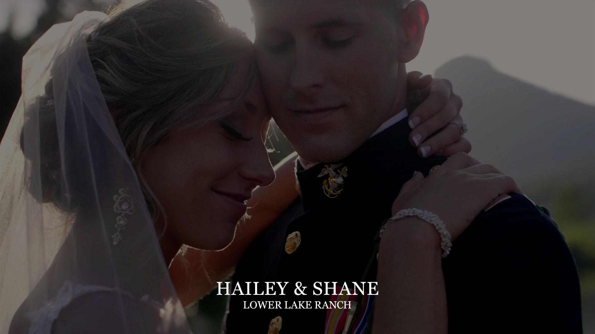 Hailey & Shane at Lower Lake Ranch
